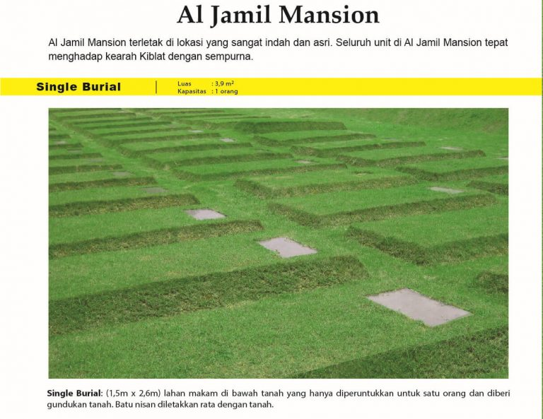 Brosur San Diego Hills Al Jamil Tipe Single