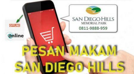 cara beli makam di san diego hills pesan online dan offline