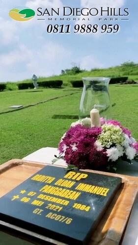 pemakaman raditya oloan suami joanna alexandra di san diego hills